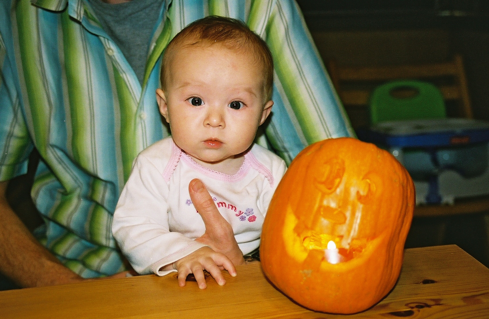 delia and the pumpkin